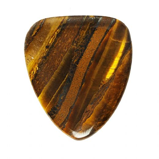 Tiger Tones Banded Tiger Jasper 1 Guitar Pick